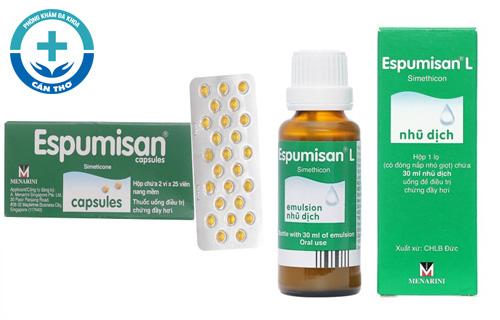 Thuốc Espumisan trị đầy hơi chướng bụng có tốt không? Cách dùng